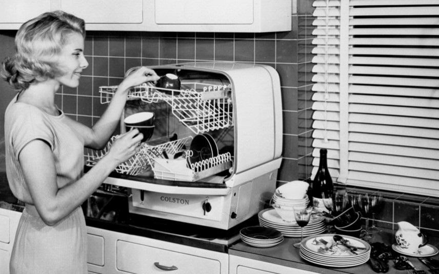 советская посудомоечная машина