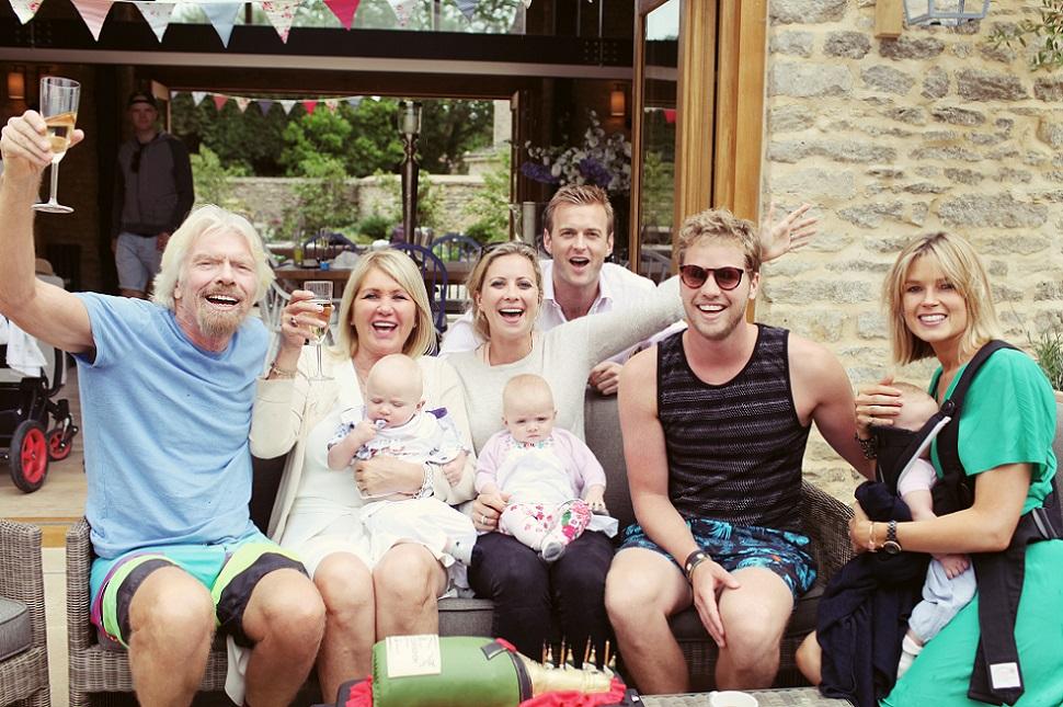семья ричарда брэнсона