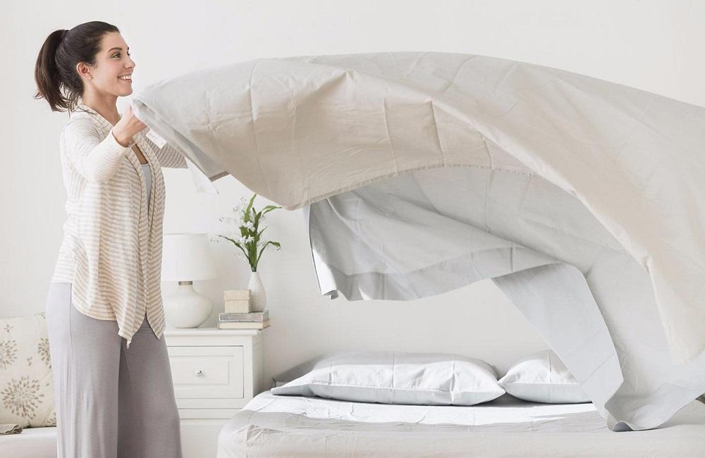 стирка постельного белья как часто