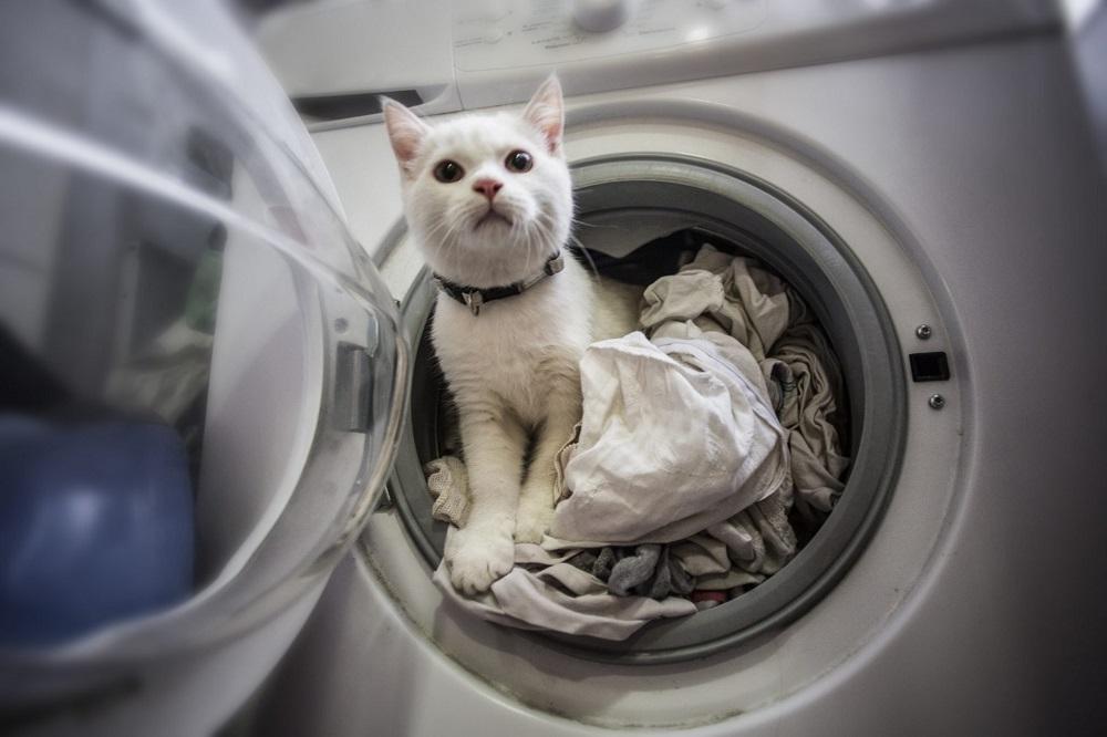 стирка постельного белья в стиральной машинке