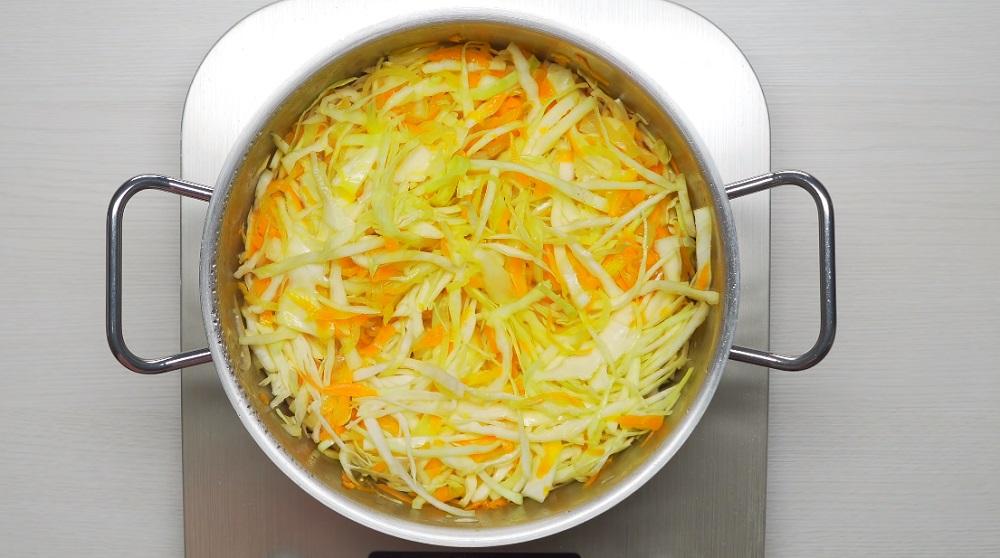 рецепт тушенной капусты