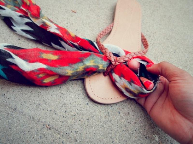 ткань на вьетнамках удобная обувь