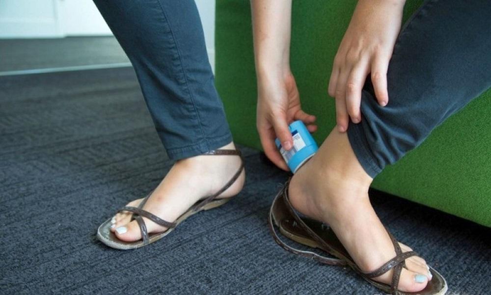 антиперспирант для удобной обуви