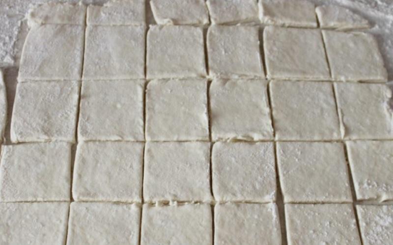 Заготовка на печенье
