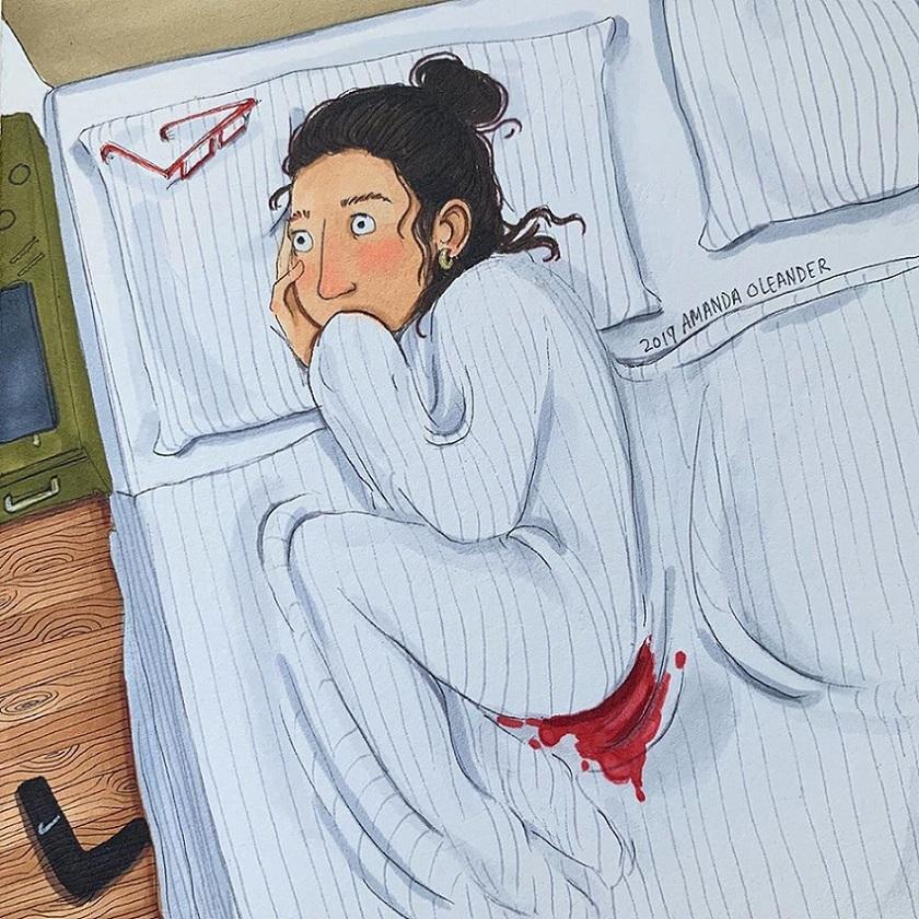 женские проблемы смешные иллюстрации